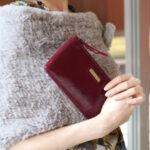 使い勝手の良いLOMAシェブロンエナメル長財布が欲しい!