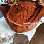 可愛らしさのある革メッシュのバッグ「robitaロビタ」