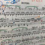 楽譜への書き込みカラフル派?