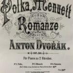 のだめを思い出した♪ドボルザークのチェコ組曲「ポルカ」ピアノ独奏