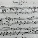 未完のソナタ1楽章、どうやって弾くの?シューベルト